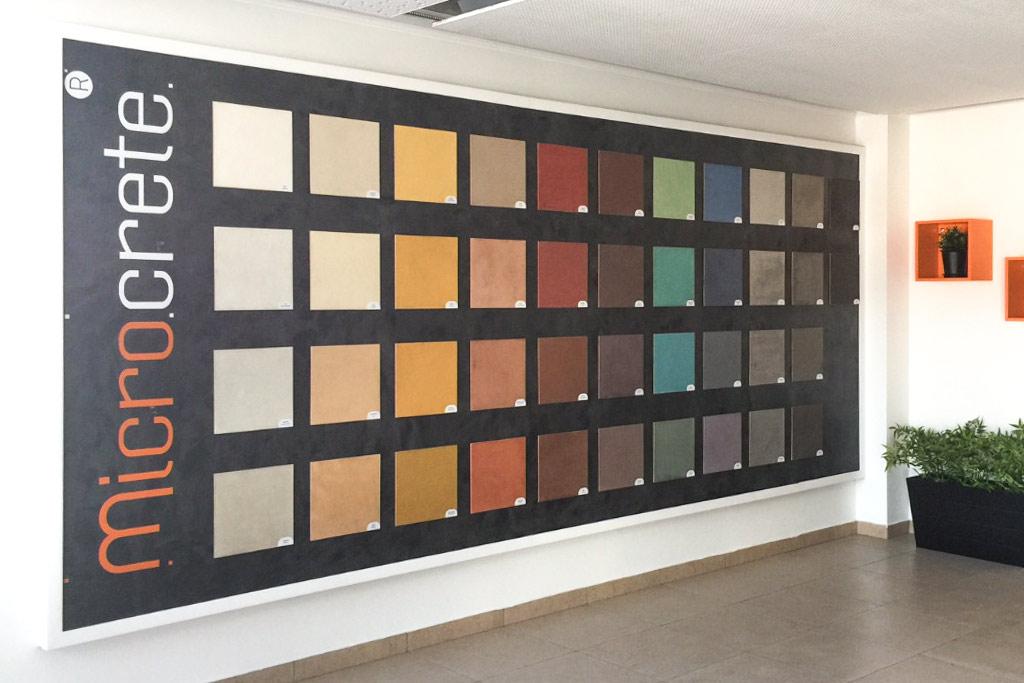 microcimento cores