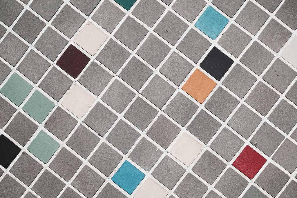 microcimento mosaico