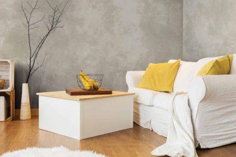 Revestimento de paredes interiores