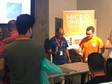 Workshop Microcrete: Aplicar microcimento sem mistérios!