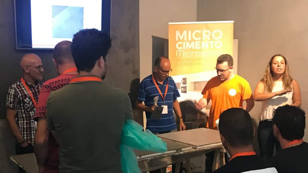 Aplicar microcimento workshop
