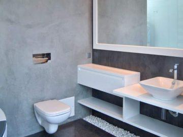 Microcimento: Material de eleição para casas de banho