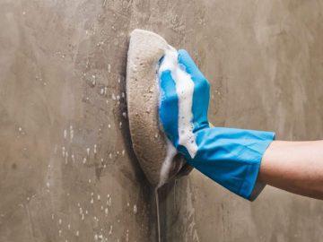Sabe como limpar microcimento? Damos-lhe 5 dicas essenciais!