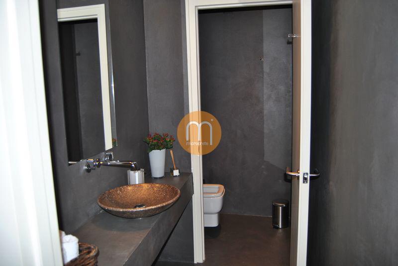wc guest house inp tio porto wc microcrete. Black Bedroom Furniture Sets. Home Design Ideas